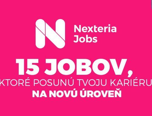 Nexteria Jobs:  15 čerstvých pozícií, ktoré čakajú len na Teba!