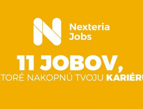 Nexteria Jobs: 11 jobov, ktoré nakopnú tvoju kariéru