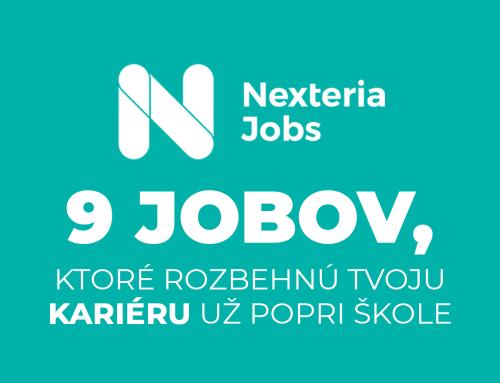 Nexteria Jobs: 9 pozícií, ktoré rozbehnú tvoju kariéru už popri škole